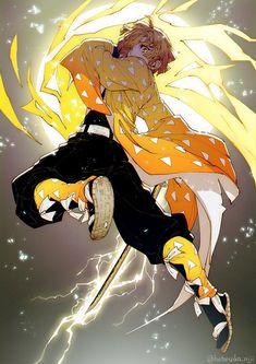 Anime: Demon Slayer Kimetsu No Yaiba <Don't forget to support the artist> Otaku Anime, M Anime, Anime Demon, Anime Art, Demon Slayer, Slayer Anime, Anime Love, Character Art, Character Design