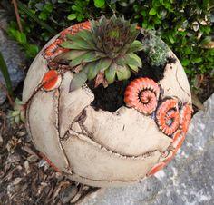 Gut Die Besten 20 Gartenkeramik Einfach Tpfern Ideen Fr Haus Und Garten | Garden  Art/Garden Junk/Garden Decor | Pinterest | Garten, Pottery And Clay