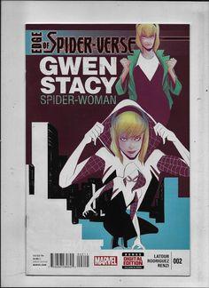 Edge of Spider-Verse #2 NM 9.4 - NM/MT 9.8 Marvel 2014 1st print 1st Spider-Gwen