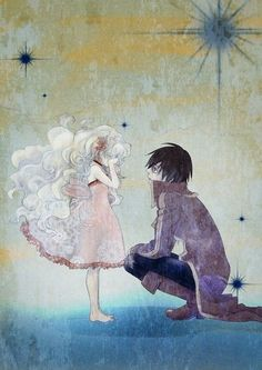 I don't know what it's from, but it's very sweet. Reminds me of an older Simon and a young  probably not.