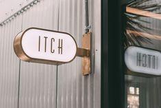 Sophisticated branding identity and logo design for Wine Bar. Cafe Signage, Storefront Signage, Restaurant Signage, Architecture Restaurant, Shop Signage, Retail Signage, Wayfinding Signage, Signage Design, Cafe Design