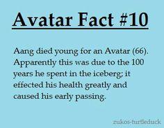 Avatar facts. :(