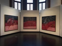 Philip Guston and the Poets, Exhibition view, Gallerie dell'Accademia, 2017