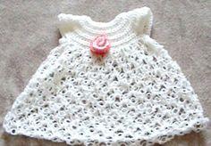 Doll Dress   Crochet Baby Patterns