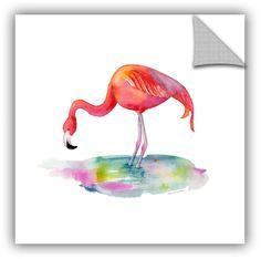 Flamingo Dip Wall Mural