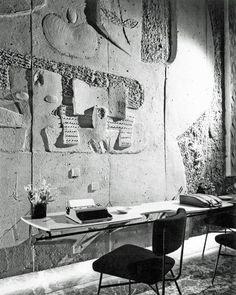Olivetti showroom   New York, 1954