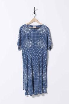 House Dress - Blue Lace - Nancybird
