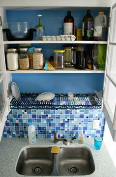 Kitchen Sink Dish Drying Racks