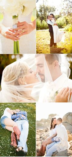 I like these wedding pics and although I don't really want a vale, I do like the middle pic a lot.