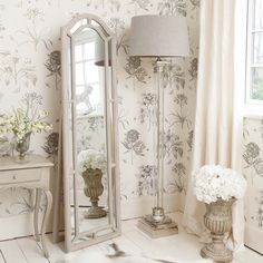 NEW! Self-Framed Cheval Mirror  |  Full Length Mirrors  |  Mirrors & Screens  |  French Bedroom Company