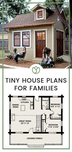 Looking forward to building your own tiny house on wheels? Before you ever start build your tiny house, the first step is to figure out the perfect design for you! Here are inspirations for your future tiny house design. Tiny House Models You'll Love The Tiny House Family, Tiny House Cabin, Tiny House Living, Tiny House On Wheels, Tiny House Design, Small House Plans, House Floor Plans, Small Home Design, Tiny Home Floor Plans