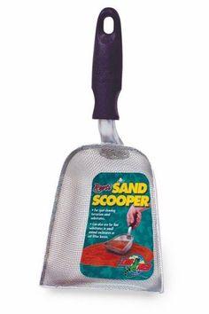 Zoo Med Repti Sand Scooper Heavy Duty Scoop Terrarium Sand Cleaning Corners