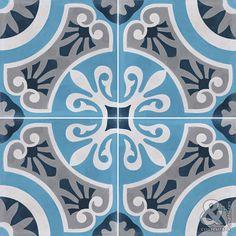 Les décors 4 carreaux - Carreaux de ciment - Les collections - Couleurs & Matières
