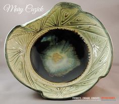 Potters Council Past Presenter, Mary Cuzick.  http://www.cuzickpottery.com/clayworks/Marys_Work/Marys_Work.html  To learn more about Potters Council, click here: http://ceramicartsdaily.org/potters-council/