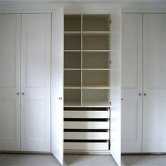 Bedroom Built In Wardrobes 1 Bespoke Built In Fitted Wardrobes ...