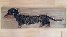 My first dog String art - HunGabi