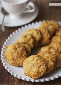 Galletas De Zanahoria / carrot cookies …