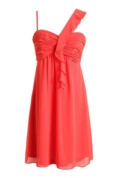 robe en chiffon drapée - esprit 99,95