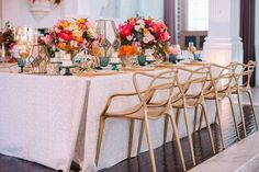 We love how our aqua goblets pop amidst this gorgeous table! Sterling Engagements Inc. + Shawna Yamamoto Event Design using Luxe Linen's White Circle Dance Linen and Gold Lame Napkins for the #luxelaunch2016 | Rentals: Revelry Event Designers + Pretty Vintage Rentals // China: Dish Wish // Furniture: Lounge Appeal // Paper Goods: Prim and Pixie // Sweets: Fantasy Frostings // Art: Zen Arts // Wings: Art of Colette Miller // Hosted & Produced by #LuxeLinen + Rayce PR and Marketing at V