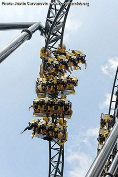 10 Amazing & Scariest Rollercoasters in the World Best Roller Coasters, Cool Coasters, Roller Coaster Ride, Alton Towers Rides, Universal Parks, Thorpe Park, Riders On The Storm, Amusement Park Rides, Carnival Rides