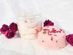 Excited to share the latest addition to my #etsy shop: Vegan Gift, Rose, Bath Bomb, Body Butter, Skin Care, Bridal Shower, Gift For Her, Gift For Mom, Birthday Gift, Girlfriend Gift, Soap