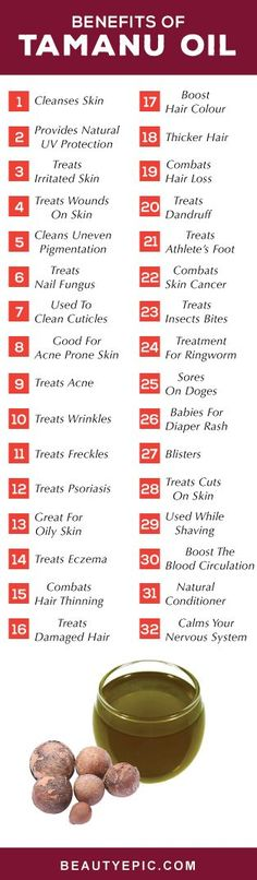 50 Amazing Uses and Benefits of Tamanu oil For Good Tamanu oil has many benefits due to its antibacterial, antibiotic, anti-inflammatory, and antioxidant properties. Here is a list of 50 tamanu oil benefits Essential Oils For Skin, Essential Oil Uses, Young Living Essential Oils, Aromatherapy Recipes, Aromatherapy Oils, Yl Oils, Tamanu Oil, Coconut Health Benefits, Essential Oils
