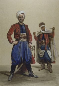 French; Spahi, French & Native Sous-officiers, 1860