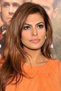 Eva Mendes. Hollywood actress from Cuba.