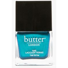 butter LONDON Seaside (890 RUB) ❤ liked on Polyvore featuring beauty products, nail care, nail polish, butter london, butter london nail polish and butter london nail lacquer