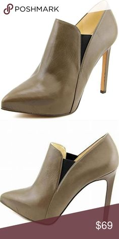 e769a8fc4955 Nine West Leandra Heeled Booties Toe Type pointy Brand nine west Style Name  front pointy toe