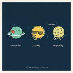 Funny planets | Illustration byLim Heng Swee