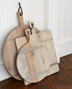 cutting boards in driftwood finish