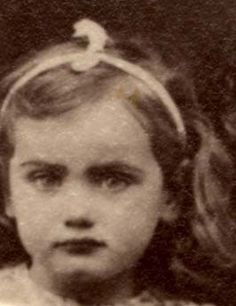 Therese Erdberg age 5 from Paris, France was sadly murdered in Auschwitz on December 1943.