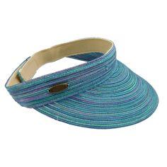 Cappelli Polybraid Multicolor Sun Visor