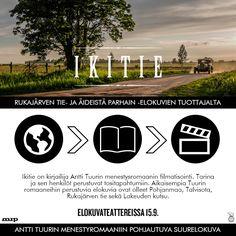 Mihin IKITIE perustuu? 🌏📕🎬  IKITIE elokuvateattereissa 15.9. 🎬  @NordiskFilmFi