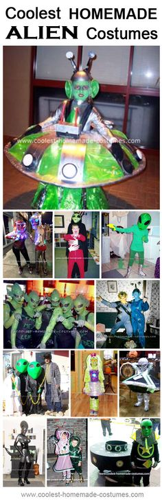 Alien Costume Halloween Ideas - Coolest Homemade Costume Contest
