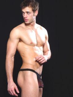 William Levy Modeling Underwear Ropa Interior Transparente Moda Hombre Actrices Desnudo Celebridades