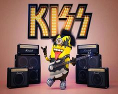 Gene simmons minion