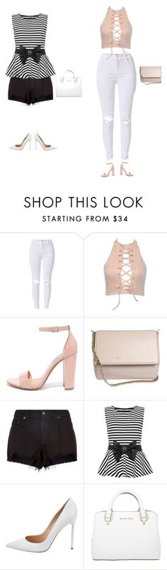 """""""Untitled #1"""" by gabbie-rasmussen-gr ❤ liked on Polyvore featuring Steve Madden, Givenchy, rag & bone, WearAll, Gianvito Rossi and Michael Kors"""