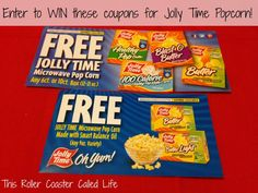 Jolly Time Popcorn Coupons