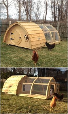 A Run-Through for Making a Chicken Coop - Life ideas Hobbit Hole, The Hobbit, Raising Farm Animals, Garden Works, Underground Homes, Natural Building, Cool House Designs, House In The Woods, Livestock