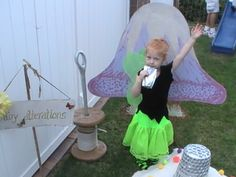 Pixie Hollow Party www.lipglossandlaundry.com