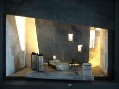 Falstaff, Scottish Opera. Design by Tom Piper. Model. Ford's House