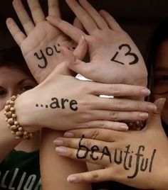 You *are* beautiful...