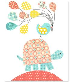 https://www.etsy.com/es/listing/222501685/nursery-turtle-print-bird-balloons-aqua?ref=related-5