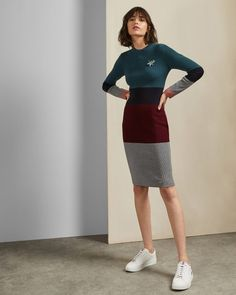 Discover Ted Baker's collection of stunning designs, from day and evening dresses, to signature, statement pieces to help create your show-stopping look. Satin Midi Dress, Maxi Dress With Sleeves, Short Sleeve Dresses, Ted Baker, Embroidered Denim Dress, Check Dress, Bodycon, Apparel Design, Casual Dresses