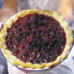 Fresh Blackberry Dessert Recipes: Fresh Blackberry Pie