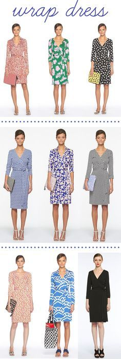 The One. The Only.  I will be buying myself a real DVF wrap dress for my 40th. jd