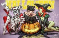 Ladies of Gotham Halloween