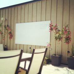 Add one of those sail thingys and make an outdoor meeting space?   ---The Hopps outdoor meeting room #Quarry